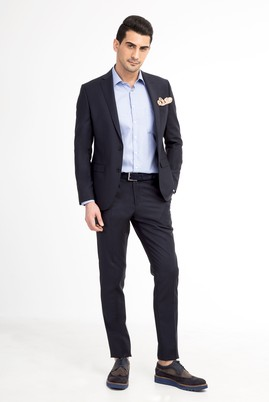 Süper Slim Fit İtalyan Takım Elbise