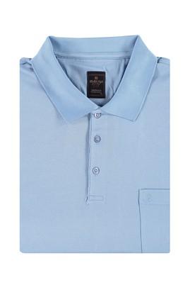 King Size Polo Yaka Merserize Tişört