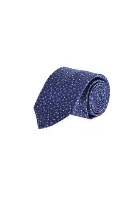 İtalyan İpek İnce Desenli Kravat