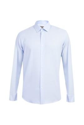 Uzun Kol Kolay Ütülenir Slim Fit Gömlek