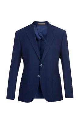 Slim Fit İtalyan Kuşgözü Ceket