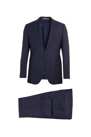 İtalyan Kareli Takım Elbise