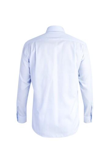 Uzun Kol Desenli Klasik Gömlek