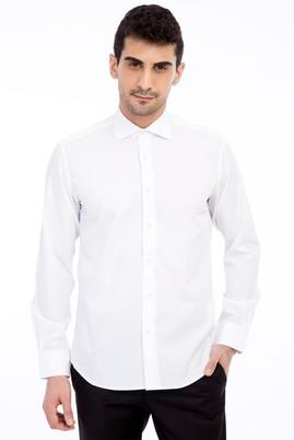 Uzun Kol Bambu Slim Fit Gömlek