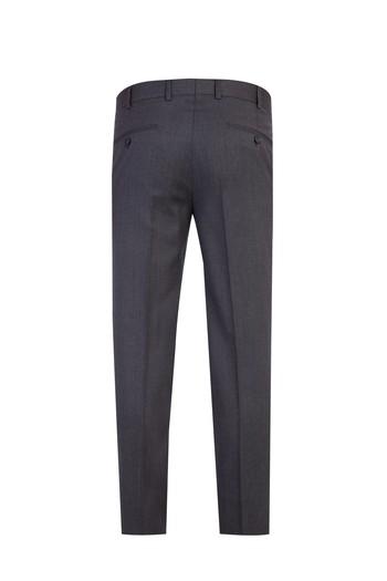Slim Fit İtalyan Çizgili Takım Elbise