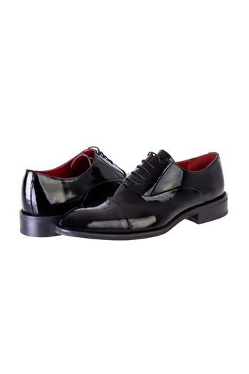 Bağcıklı Klasik Rugan Ayakkabı